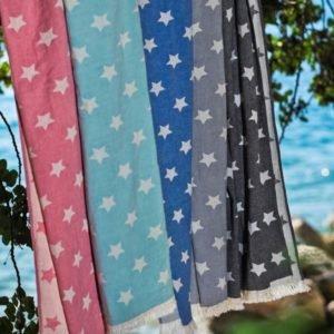Пляжное полотенце Barine Stars Blue 90×160