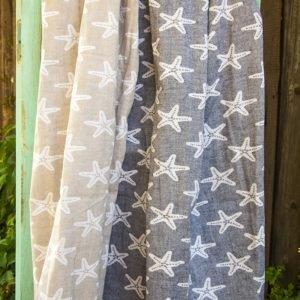 Пляжное полотенце Barine Starfish Navy 100×180