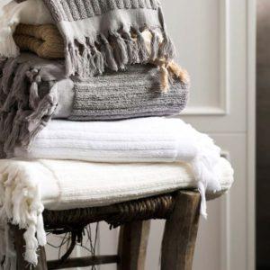Банное полотенце Barine Rib Camel 85×175