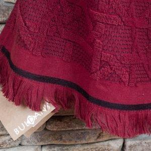 Банное полотенце Buldans Selcuk Burgundy 90×150