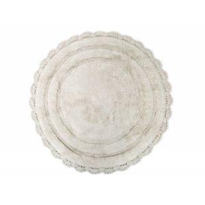 Круглый коврик в ванную Irya ANNA BEJ 80 см. диаметр
