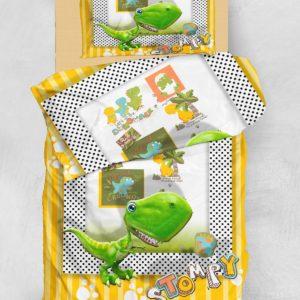 Детское постельное белье 3D Eponj Home STOMPY SARI-YESIL 160×220
