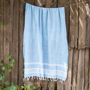 Пляжное полотенце Barine Recycle Бирюзовый 95×165