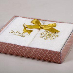 Набор кухонных полотенец Barine Winter Gold 30×50