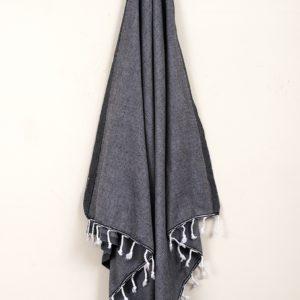 Пляжное полотенце Barine Engin Black 100×180