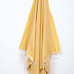 Пляжное полотенце Barine Engin Safron 100×180
