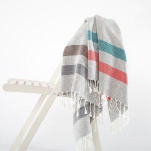 Пляжное полотенце Irya GIRIT KIRMIZI-PETROL 90×170