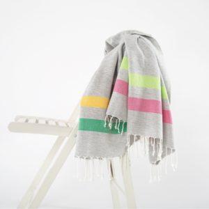 Пляжное полотенце Irya GIRIT PEMBE-YESIL 90×170