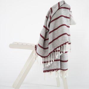 Пляжное полотенце Irya SAMOS BORDO 90×170
