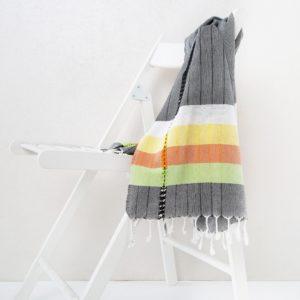 Пляжное полотенце Irya MELTEM SIYAH 90×170