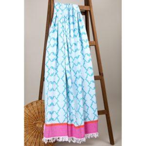 Пляжное полотенце Barine Pastemal Jasmine Green 90×165