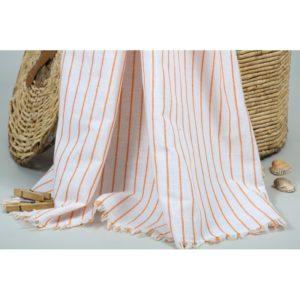 Пляжное полотенце Barine Pastemal Linea Orange 90×170
