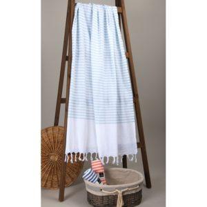 Пляжное полотенце Barine Pastemal White Imbat Mint 90×170