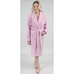 Халат женский Irya FRIZZ L/XL (8699397000599) Турция Розовый