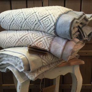 Банное полотенце Buldans Knidos Brown 90×150
