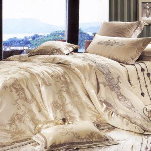 Шелковое постельное белье La Scala 3D-35