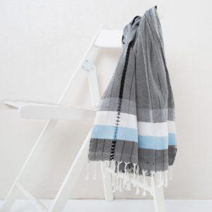 Пляжное полотенце Irya MELTEM GRI 90×170