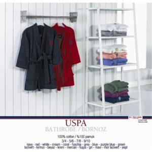 Халат женский U.S. Polo Assn Uspa Mor-Lacivert S/M