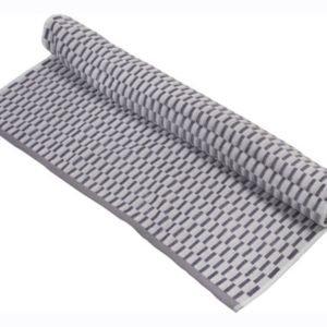 Махровое полотенце TAC Mila Серый 70×140