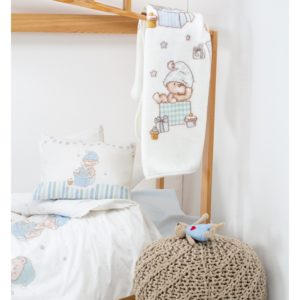 Детский Плед-Покрывало Karaca Home Funny Bears 100×120