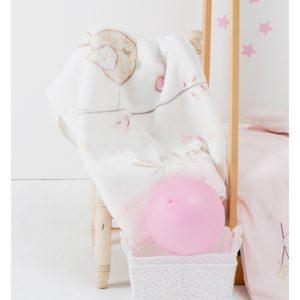 Детский Плед-Покрывало Karaca Home Sweet Bird 100×120