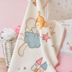 Детский Плед-Покрывало Karaca Home Peri 100×120