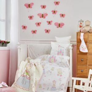 Детский Плед-Покрывало Karaca Home Princes 100×120