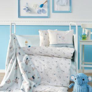Детский Плед-Покрывало Karaca Home Woof 100×120
