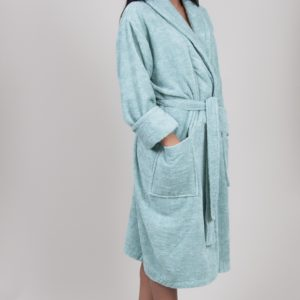 Махровый халат TAC Maison 3d Mint 2XL/3XL