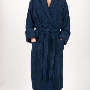 Махровый халат TAC Maison 3d LacivertХлопок