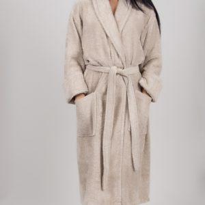 Махровый халат TAC Maison 3d S.KahveХлопок