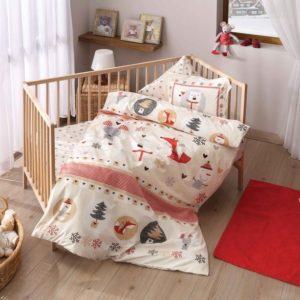 Постельное белье для младенцев TAC Snow Kirmizi 100×150