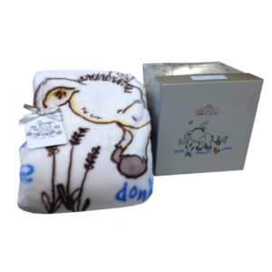 Детский Плед-Покрывало Karaca Home Donkey's World 100×120