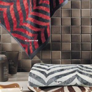 Махровое полотенце TAC Vetrina 70×140