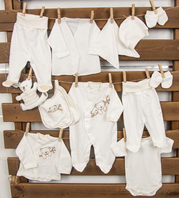 Набор для младенцев из 14 предметов Karaca Home Koala