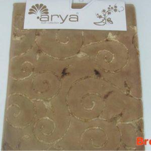 Коврик Arya 70×120 Sarmasik Коричневый