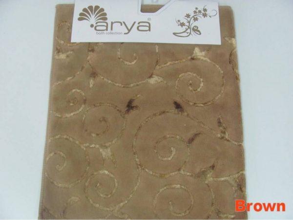 Коврик Arya 70x120 Sarmasik Коричневый Коричневый (1380051)