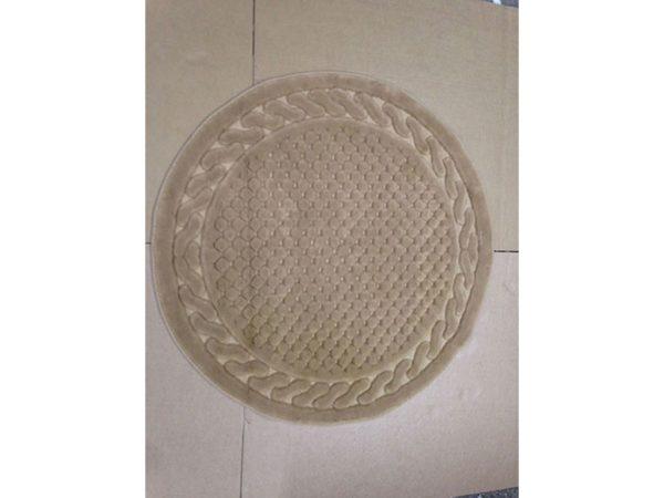 Круглый коврик Arya 120 см Berceste Бежевый Бежевый (1380026-2)