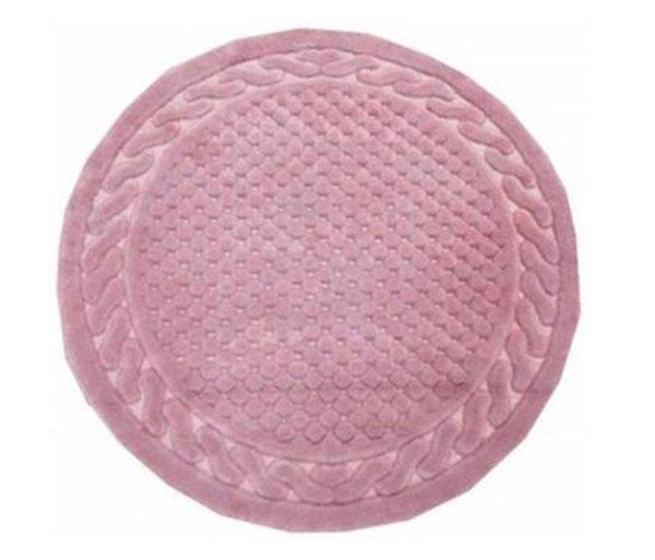 Круглый коврик Arya 120 см Berceste Розовый Розовый (1380026-1)