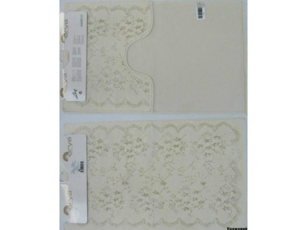 Набор ковриков Arya 60×100 Bahar Кремовый