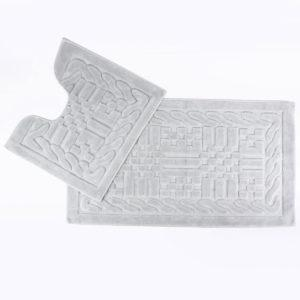Набор ковриков Arya 60×100 Berceste серый