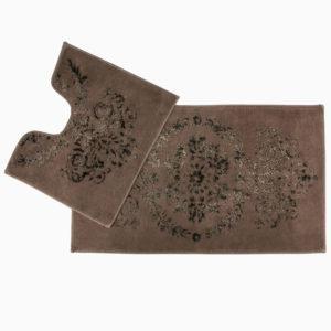Набор ковриков Arya 60×100 Luxor Коричневый