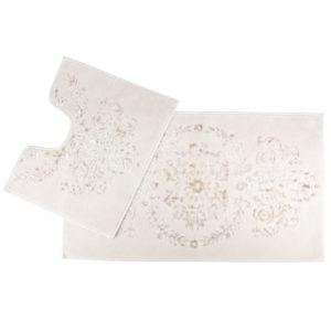 Набор ковриков Arya 60×100 Luxor Кремовый