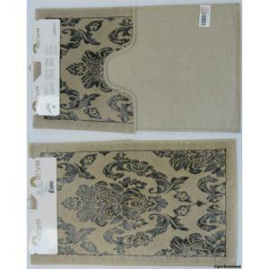 Набор ковриков Arya 60×100 Saray Серый