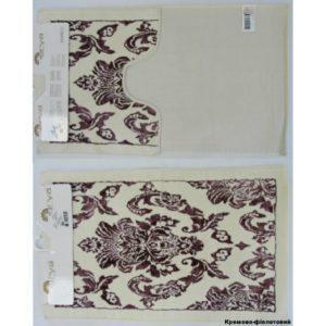 Набор ковриков Arya 60×100 Saray фиолетовый