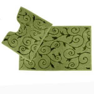 Набор ковриков Arya 60×100 Sarmasik Зеленый