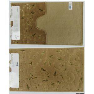 Набор ковриков Arya 60×100 Sarmasik Коричневый