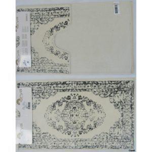 Набор ковриков Arya 60×100 Venus Серый