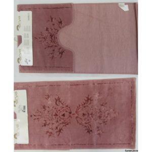 Набор ковриков Arya 60×100 Zambak Розовый
