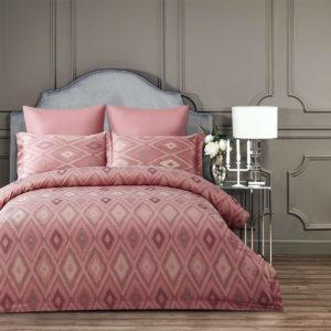 Постельное Белье Arya Majestik Бамбук Barton Розовое